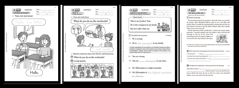 Kumon Aprenda Inglés Con El Método Kumon